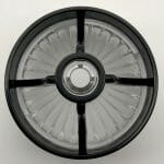 Clear Turbine - Gloss Black